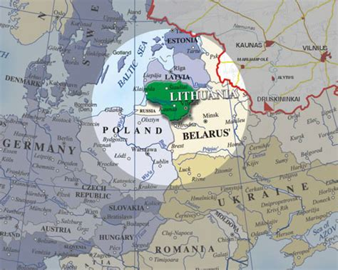 lithuania location on world map lithuania world map 28 images map of europe with