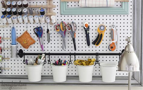 Pegboard Craft Room Large Pegboard For Craft Room Organization