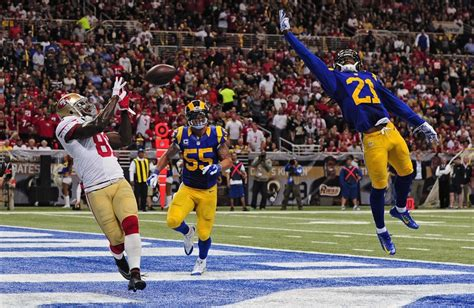 st louis rams vs san francisco 49ers 2014 49ers show poise in win vs rams