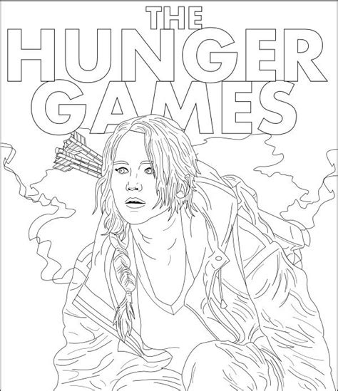 printable hunger games coloring pages hunger games free coloring pages