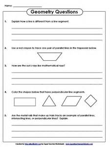 education world super teachers geometry questions worksheet