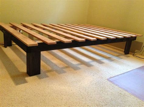 build your own bed frame plans 25 best ideas about diy bed frame on pallet