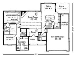 floor plans for ranch houses ideas floor plans for ranch homes with diningroom floor