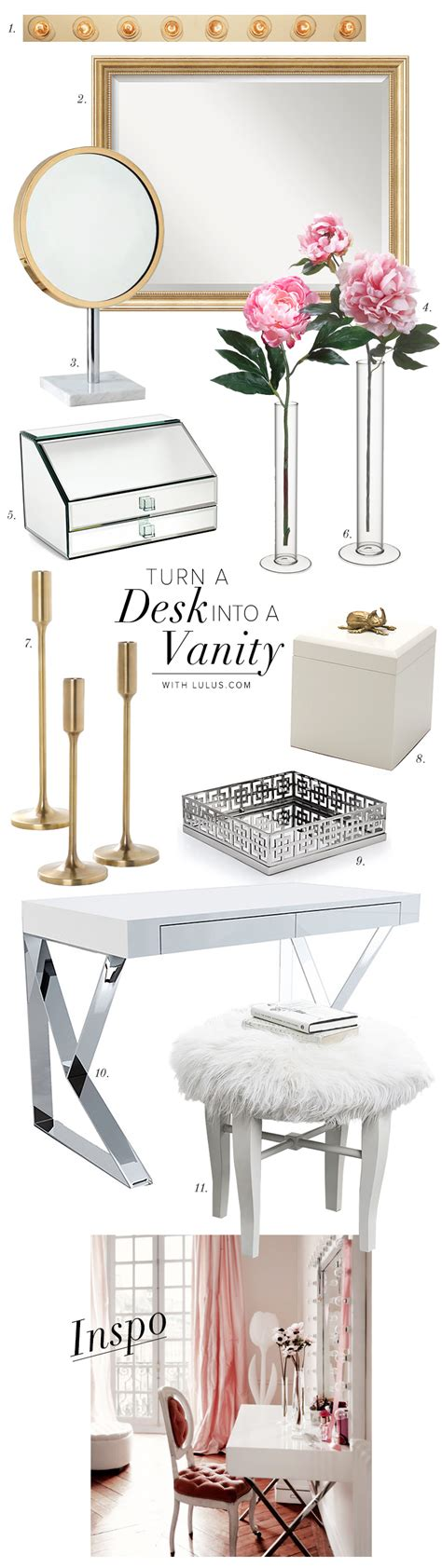 turn desk into vanity turn your desk into a vanity lulus com fashion