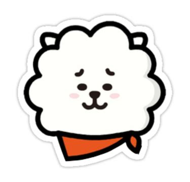 pin bt21 rj face images to pinterest