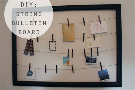 Cork Board String - pin by the thrifty on projects ideas