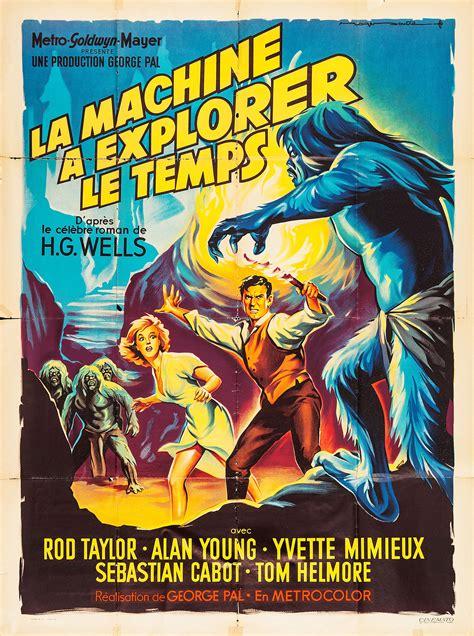 The Time Machine the time machine retro posterretro poster