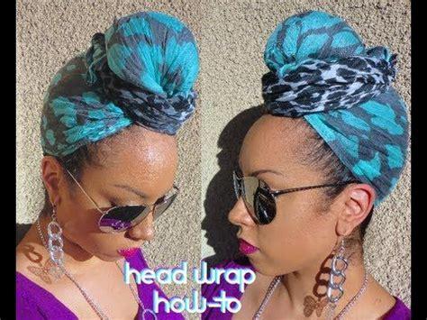 turban bun tutorial cute tutorial perfect for summer cover ups or bad hair