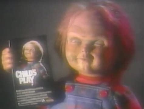 chucky movie box office vintage video check out rare footage from 1989 child s