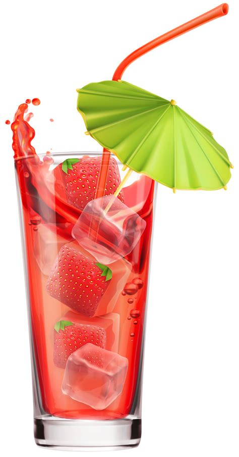 martinis png strawberry cocktail png clipart image clip art drinks