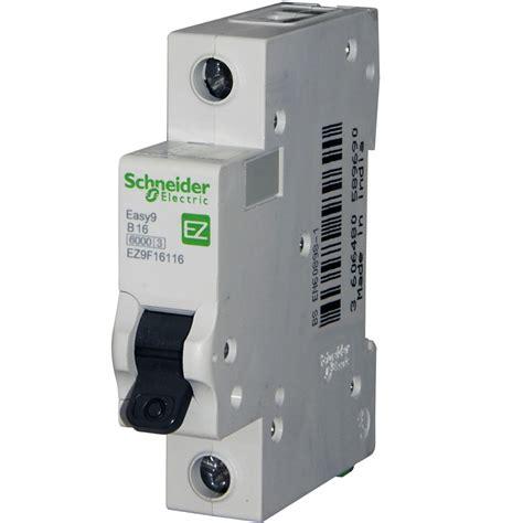 Mcb Schneider Domae 20 A 1p schneider easy 9 16 mcb replaces the domae dom16b6