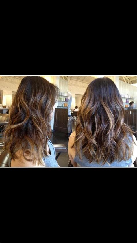 does hair look like ombre when highlights growing out 92 best subtle balayage ombre medium length hair images