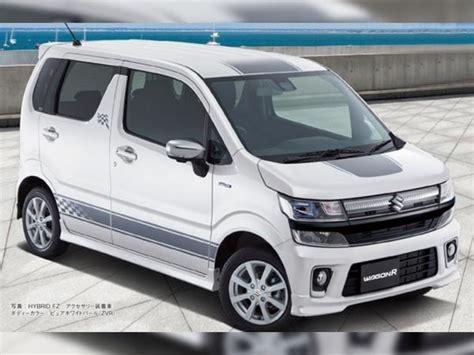 New Suzuki Wagon R New Suzuki Wagonr Revealed Drivespark