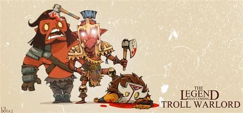 troll warlord fan art wallpaper hd  troll