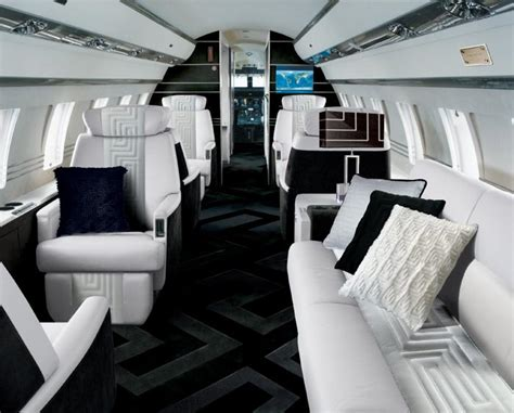 Jet Interiors by Versace Creates Stunning Jet Interior The High