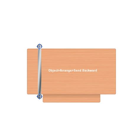 backwards l shaped desk create a students desk in top view simple shapes and