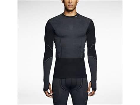 Baseslayer Nike Procombat Shirtsleeve nike pro combat hyperwarm flex s shirt for skiing base layer x active nike