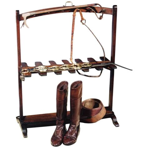 george iii period mahogany boot and whip rack at 1stdibs
