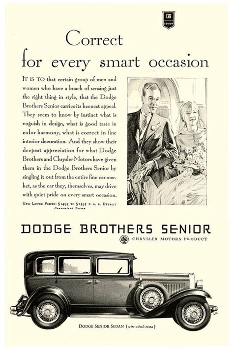 doodle motor the dodge brothers senior dodge and motor car