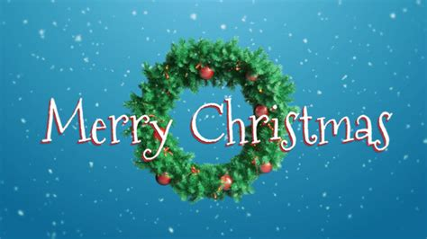 merry christmas wreath  nikguk videohive