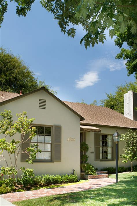 california cottage style exterior los angeles