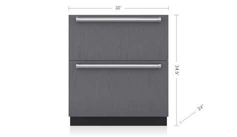 sub zero freezer drawers with ice maker subzero 30 quot freezer drawers with ice maker automatic ice