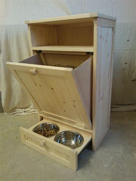 details  pet food cabinet storage organizer cat dog