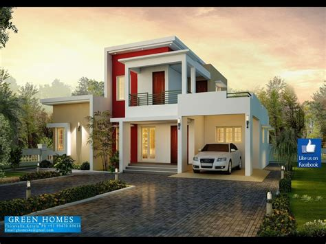 modern 3 bedroom house a floor plan modern house