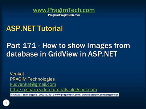 tutorial asp net html sql server net and c video tutorial how to show images