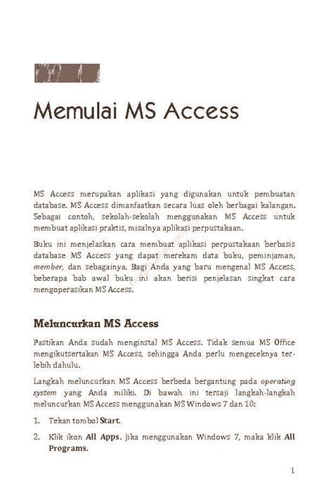 membuat invoice dengan ms access jual buku membuat aplikasi perpustakaan dengan ms access