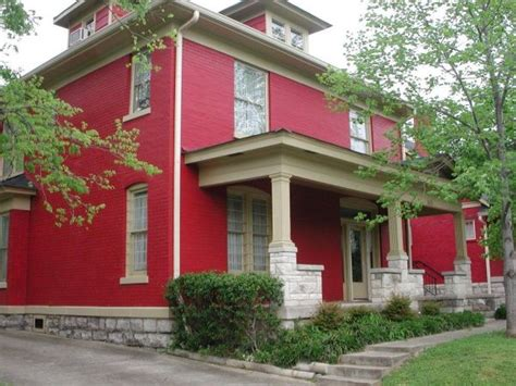 red homes the best colors to paint the outside of your house with