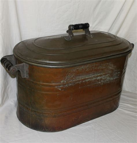 kitchen collectibles bargain s antiques 187 archive antique copper boiler with matching copper lid bargain