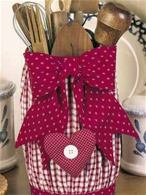 fabric crafts kitchen country craft ideas craft ideas for kitchen decorating