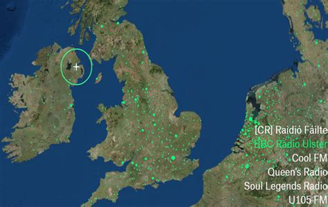 interactive map lets  listen  radio stations