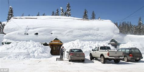 Record Search California California Snow Resorts Suffering From Global Warming Shatter Snowfall Records With