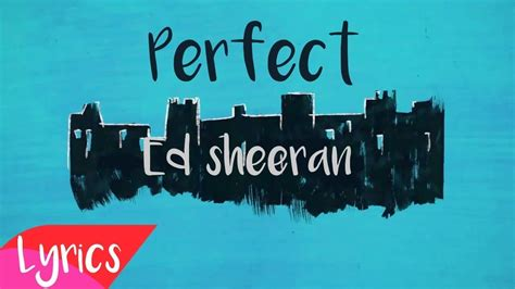 ed sheeran perfect with andrea bocelli lyrics ed sheeran perfect professional lyrics ft andrea