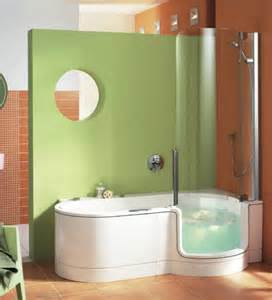 Walk In Tub Shower Combo Perfect For Small Bathroom Home