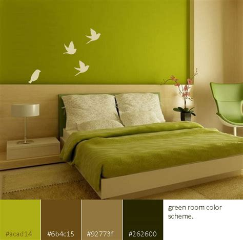 green bedrooms color schemes room color scheme green interior design center inspiration