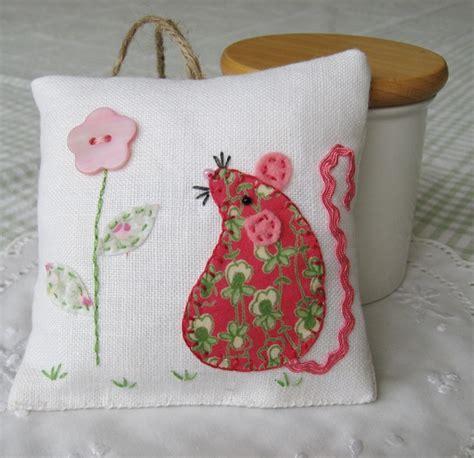 Handmade Lavender Bags - mouse vintage linen lavender bag folksy