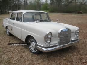 Mercedes 220s 1961 Mercedes 220 S Antique Classic 220s Fintail Sedan