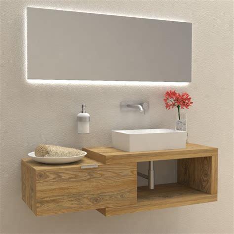 mobili bagno in legno mobili e arredo bagno in legno massello arena 60 mobile