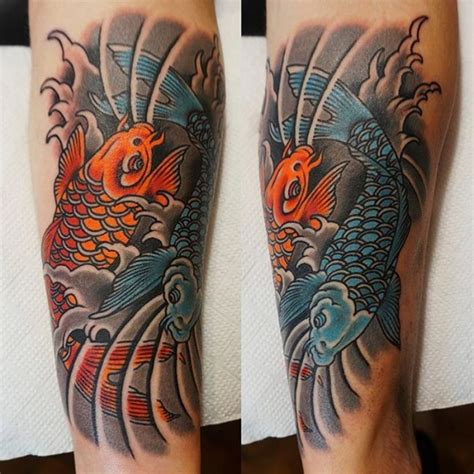 koi tattoo up or down 65 japanese koi fish tattoo designs meanings true