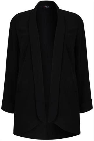 Turn Buckle Span Skrup No 22 black white geo print longline top with 3 4 length sleeves