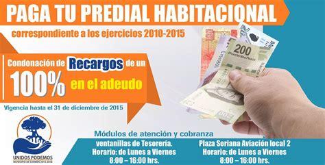 pago del predial en el estado de mexico tecamac pago predial 2016 ciudad de mexico