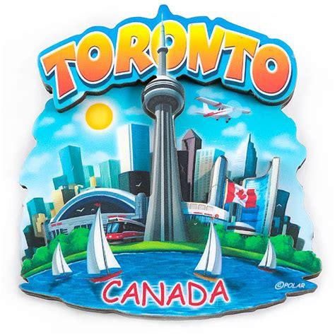 Souvenir Negara Canada Tempelan Magnet Tower Toronto canada souvenirs gifts 3d laser cut cn tower magnet