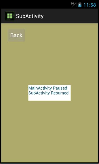 android onresume android activity get intent onresume