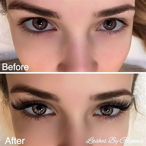 see what a difference quality extensions make before 41 best lash extensions images on pinterest eyelash