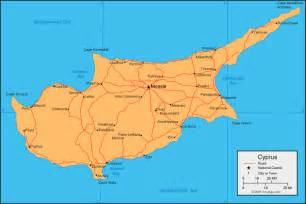 Cyprus World Map by Cyprus Map And Satellite Image