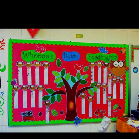 reading counts themes a r board whooo s been reading owl classroom