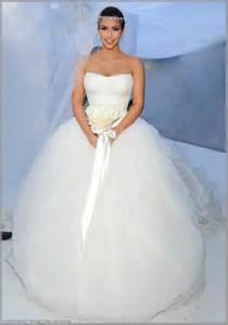 Kim kardashian s vera wang ceremony dress preowned wedding dresses